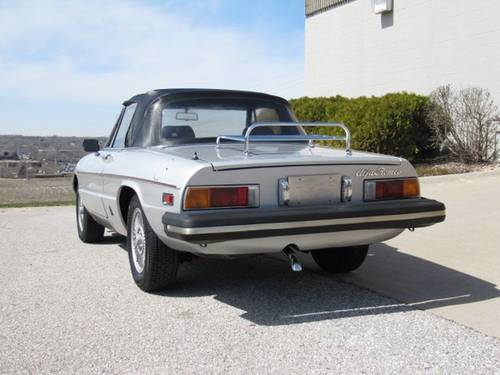 1981 Alfa Romeo Spider Veloce Roadster For Sale (picture 4 of 6)