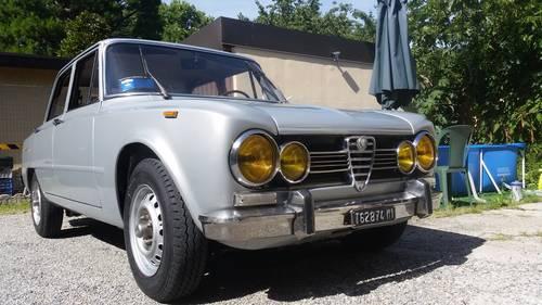 1973 restored giulia super 1600 For Sale (picture 1 of 6)