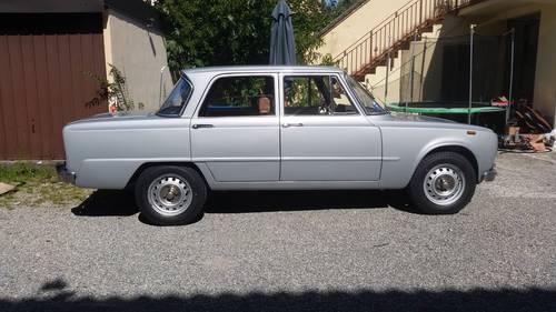 1973 restored giulia super 1600 For Sale (picture 2 of 6)