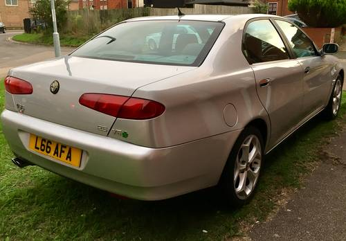 2002 Alfa Romeo 166 V6 87000 FSH suit Enthusiast Exceptional For Sale (picture 3 of 5)