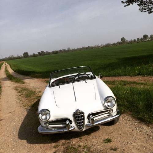 1957 Alfa romeo giulietta spider For Sale (picture 1 of 6)