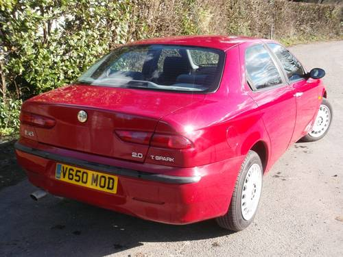 Alfa Romeo 156 16V Twin Spark (2000) For Sale (picture 2 of 6)