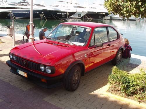 1983 Alfa Romeo Alfasud Ti QV, very original and preserved For Sale (picture 1 of 6)