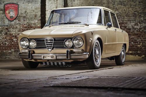 1972 Alfa Romeo Giulia Super 1.3 in top condition SOLD (picture 1 of 6)