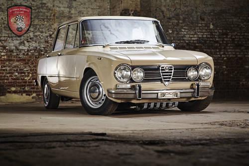 1972 Alfa Romeo Giulia Super 1.3 in top condition SOLD (picture 2 of 6)