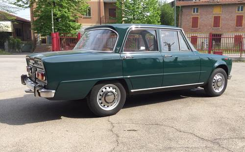 1969 Alfa Romeo giulia super 1600 For Sale (picture 2 of 6)