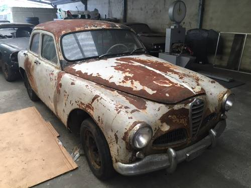 1955 ALFA ROMEO 1900 SUPER Project 1000Miglia elegible For Sale (picture 1 of 6)