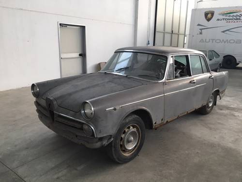1959 Alfa romeo 2000 berlina project For Sale (picture 1 of 6)