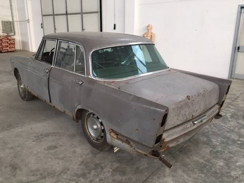 1959 Alfa romeo 2000 berlina project For Sale (picture 5 of 6)