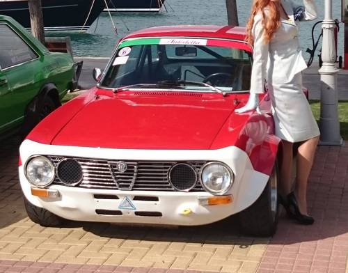 1973 Alfa Romeo GT Veloce 2.0lt, ex-James Diffey For Sale (picture 1 of 6)