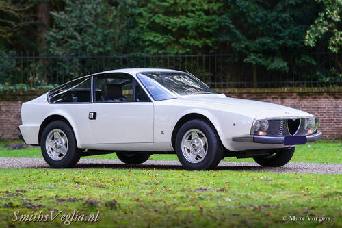 1973 Very beautiful Alfa Romeo 1600 Zagato, Matching numbers! For Sale (picture 1 of 6)