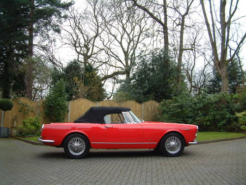 1964 Alfa Romeo 2600 Spider by Touring of Milan LHD £149,950 For Sale (picture 1 of 6)