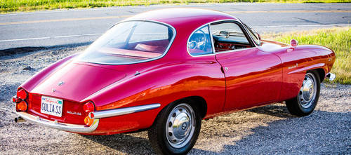 Stunning 1964 Alfa Romeo Giulia Sprint Speciale For Sale (picture 3 of 5)