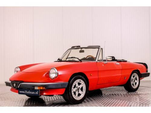 1985 Alfa Romeo Spider 1600 For Sale (picture 1 of 6)