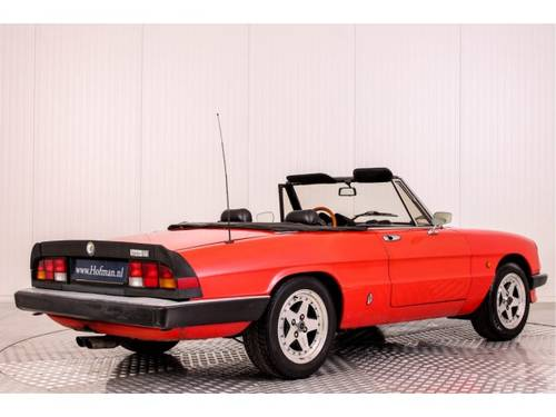 1985 Alfa Romeo Spider 1600 For Sale (picture 2 of 6)