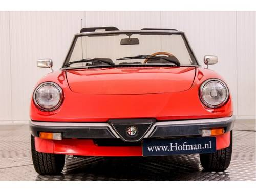 1985 Alfa Romeo Spider 1600 For Sale (picture 4 of 6)