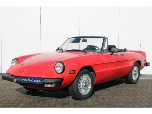 1978 Alfa Romeo Spider 2.0 Iniezione For Sale (picture 1 of 6)