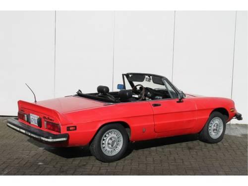 1978 Alfa Romeo Spider 2.0 Iniezione For Sale (picture 2 of 6)