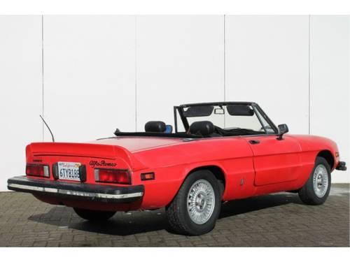 1978 Alfa Romeo Spider 2.0 Iniezione For Sale (picture 4 of 6)