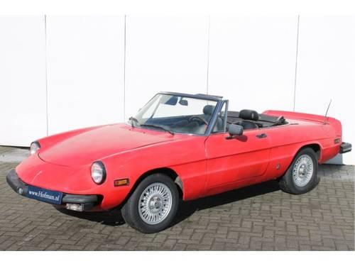 1978 Alfa Romeo Spider 2.0 Iniezione For Sale (picture 5 of 6)