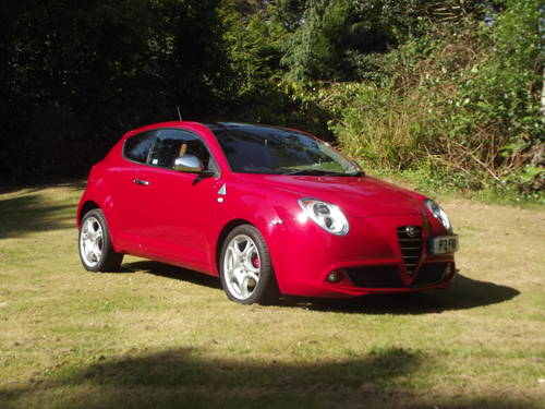 2012 ALFA ROMEO MITO 1.4 135 LTD ED DISTINCTIVE 5 DR SOLD (picture 1 of 6)