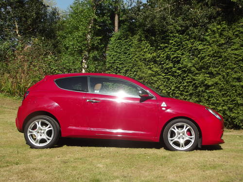 2012 ALFA ROMEO MITO 1.4 135 LTD ED DISTINCTIVE 5 DR SOLD (picture 2 of 6)