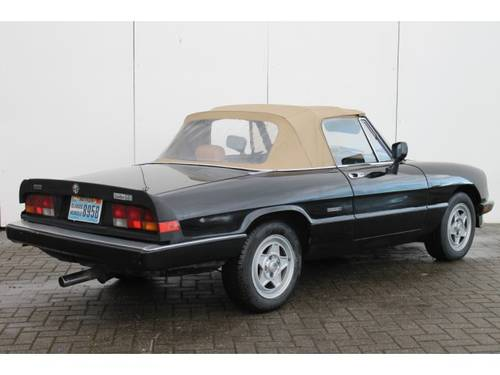 1962 Alfa Romeo Spider 2.0 Injection Aerodinamica For Sale (picture 2 of 6)