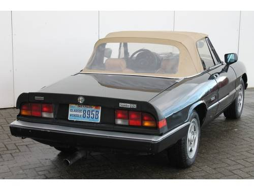 1962 Alfa Romeo Spider 2.0 Injection Aerodinamica For Sale (picture 4 of 6)
