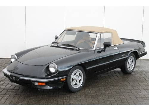 1962 Alfa Romeo Spider 2.0 Injection Aerodinamica For Sale (picture 5 of 6)