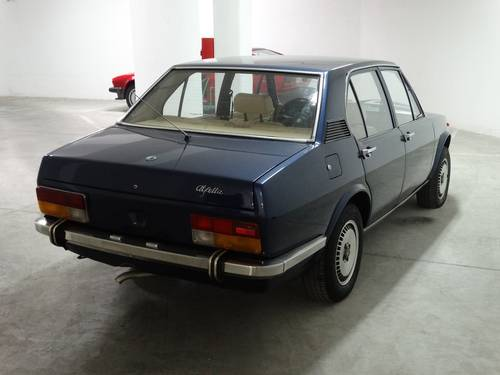 1973 Alfa Romeo Alfetta 1.8, rare blue met./magnolia For Sale (picture 2 of 6)