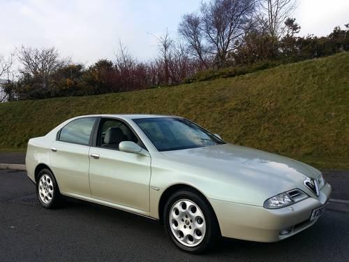 2000 Alfa Romeo 166 3.0 V6 24v Auto Sportronic For Sale (picture 1 of 6)