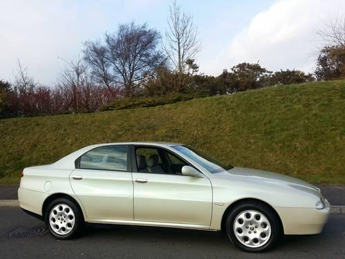 2000 Alfa Romeo 166 3.0 V6 24v Auto Sportronic For Sale (picture 5 of 6)