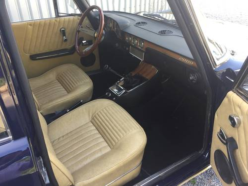 1973 ALFA ROMEO 2.0 BERLINA. SOLD (picture 5 of 6)