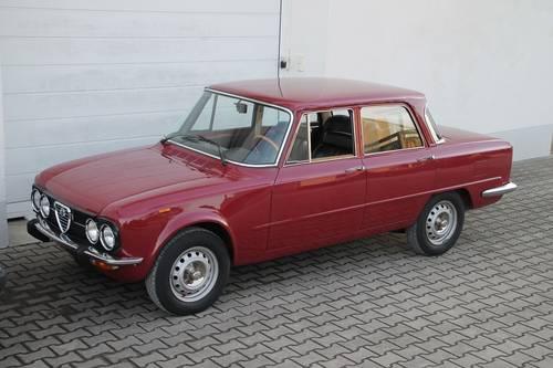 1975 Alfa Romeo Giulia Nuova Super 1,3 / first owner car SOLD (picture 1 of 6)