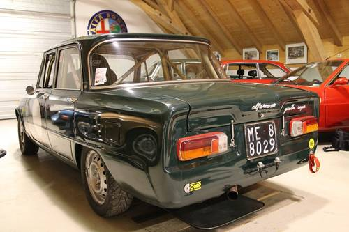 1967 Alfa Giulia Super 1,6  bollino oro/ FIA + road registration For Sale (picture 2 of 6)