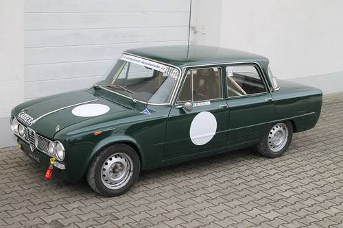 1967 Alfa Giulia Super 1,6  bollino oro/ FIA + road registration For Sale (picture 6 of 6)