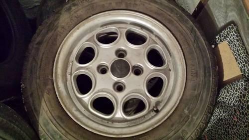 1970 Wheel rims - cerchi ruote  For Sale (picture 1 of 2)