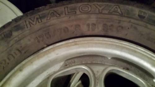1970 Wheel rims - cerchi ruote  For Sale (picture 2 of 2)