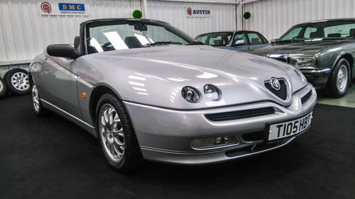 1999 Alfa Romeo Spider 2.0 T Spark 29k mls from new & superb SOLD (picture 1 of 6)