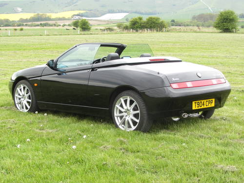 1999 Alfa Romeo Spider 2.0 Twin Spark 34,000miles! For Sale SOLD (picture 3 of 6)