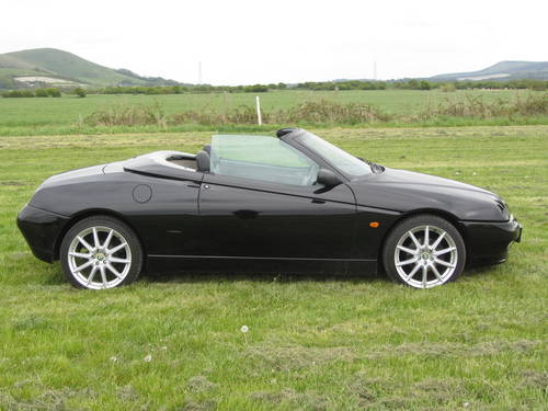 1999 Alfa Romeo Spider 2.0 Twin Spark 34,000miles! For Sale SOLD (picture 4 of 6)