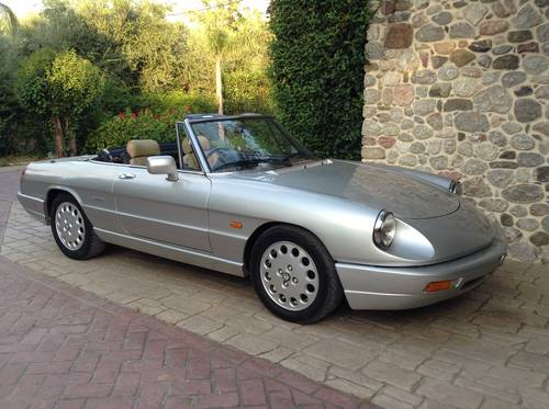 Alfa Romeo Spider S4 RHD ,SEAKING ,1991  For Sale (picture 4 of 6)