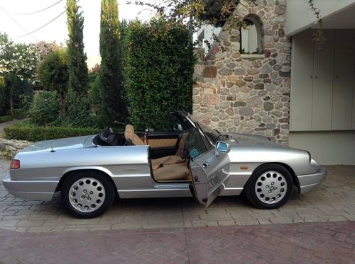 Alfa Romeo Spider S4 RHD ,SEAKING ,1991  For Sale (picture 5 of 6)
