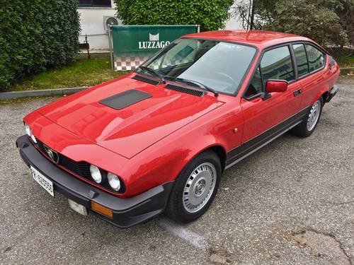 1985 Alfa Romeo - GTV 2.5 V6 EXCELLENT CONDITION SOLD (picture 1 of 6)