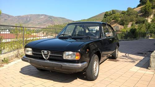 1979 Alfa Romeo Alfasud 1,3 Super with 32,000 original kms For Sale (picture 1 of 6)