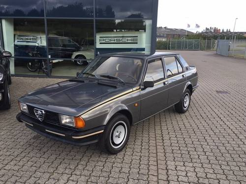 1981 Alfa Romeo Giulietta 2,0 Super  SOLD (picture 1 of 6)