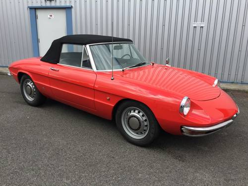 1967 ALFA ROMEO 1600 DUETTO Spider SOLD (picture 1 of 6)