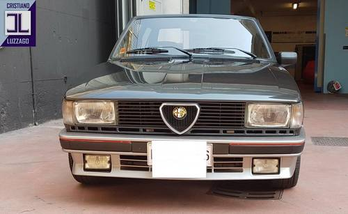 EXCEPTIONALLY PRESERVED 1984 GIULIETTA TURBODELTA SOLD (picture 1 of 6)