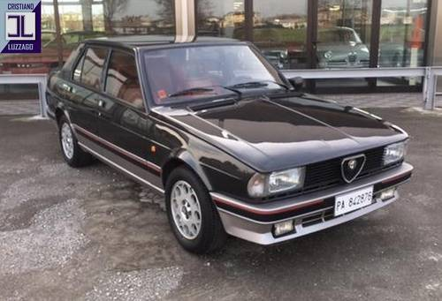 EXCEPTIONALLY PRESERVED 1984 GIULIETTA TURBODELTA SOLD (picture 3 of 6)