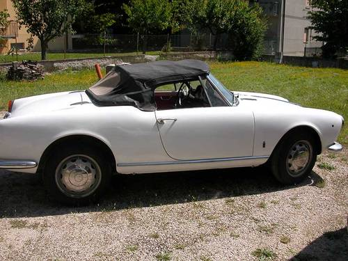 1962 ALFA ROMEO GIULIETTA SPIDER 1290 For Sale (picture 1 of 6)